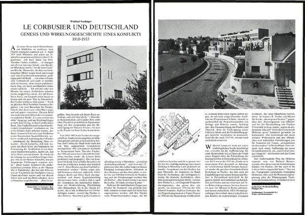 arch inhalt alle ausgaben ausgabe 90 91 le corbusier le corbusier und deutschland. Black Bedroom Furniture Sets. Home Design Ideas
