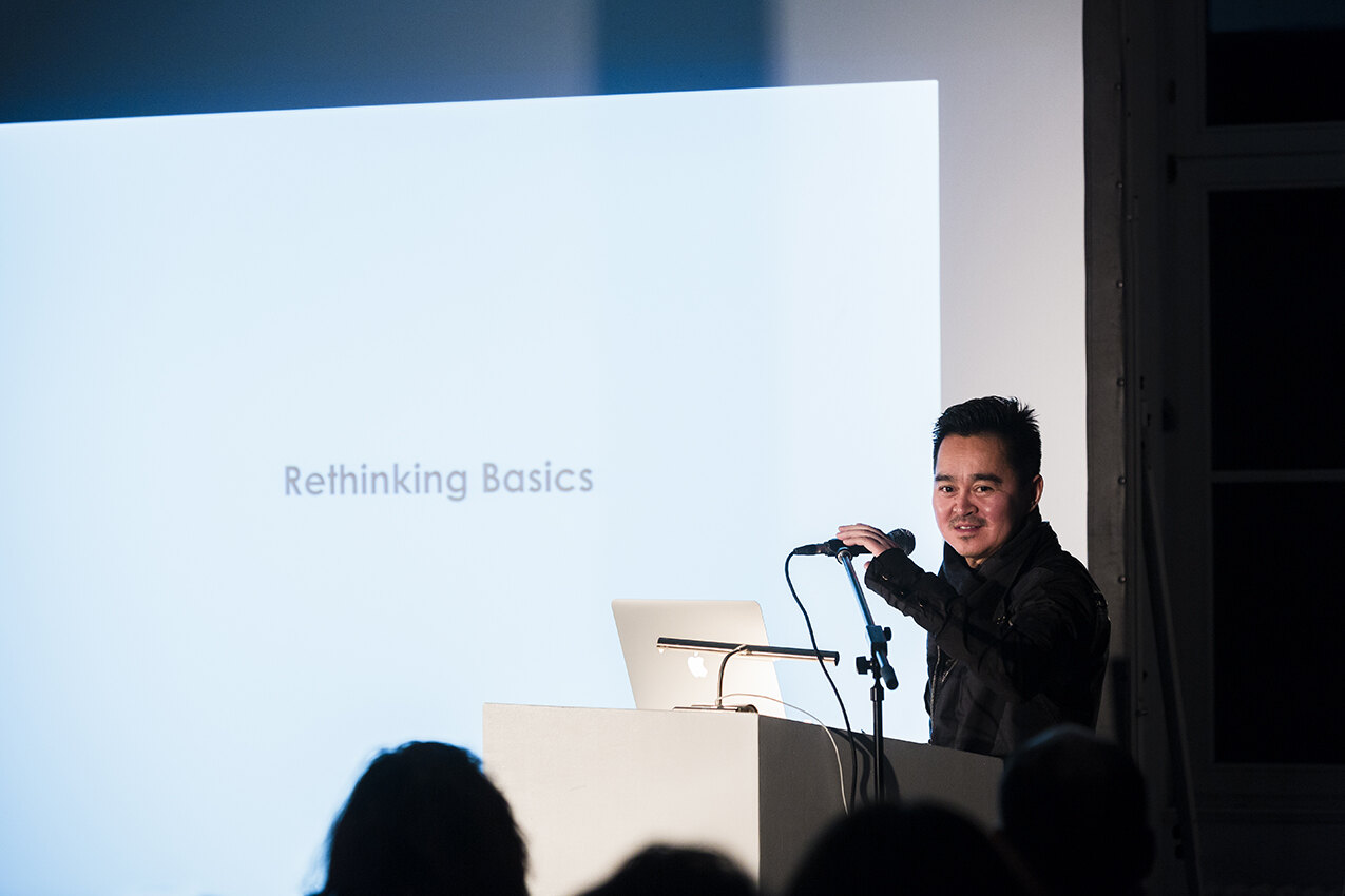Zhang Ke, founder of Beijing based office standardarchitecture, on rethinking basics. Foto: David von Becker