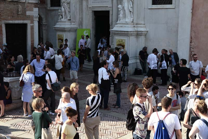 ARCH+ features 50: Legislating & Release Architecture, Chiesa della Misericordia, Venezia