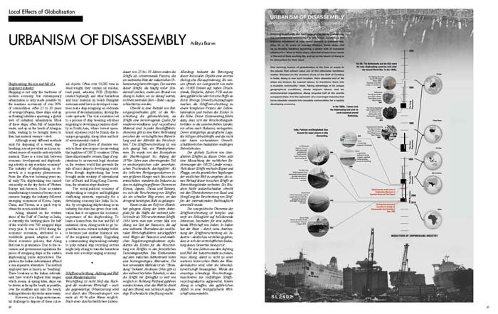 Urbanism of Disassembly (2. Prize)