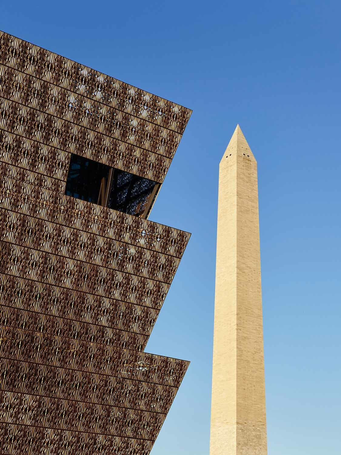 Adjaye Associates: Smithsonian National Museum for African and American History and Culture, Washington D.C., 2016, Foto: Nina Schleif