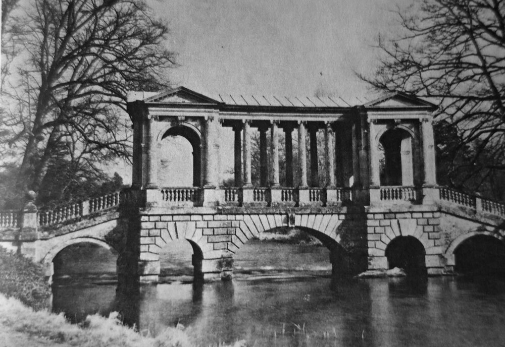 The Palladian Bridge, Whitshire, 1736–37, Architekt Roger Morris, Ninth Earl of Pembroke