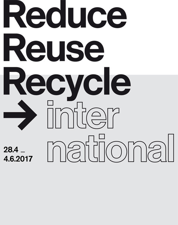 Exhibit Reduce/Reuse/Recycle/international