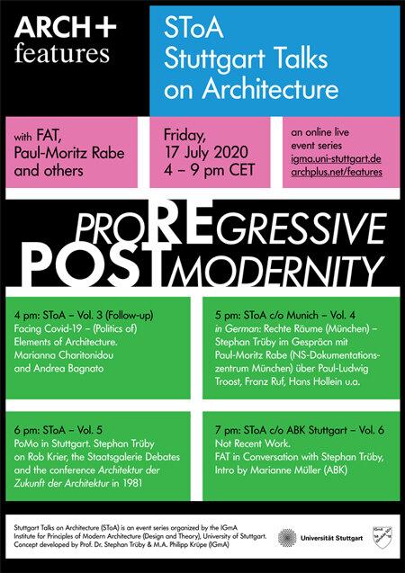 SToA Stuttgart Talks on Architecture