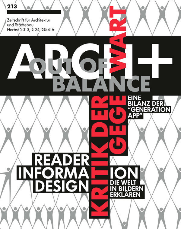 Out of Balance – Kritik der Gegenwart / Reader Information Design