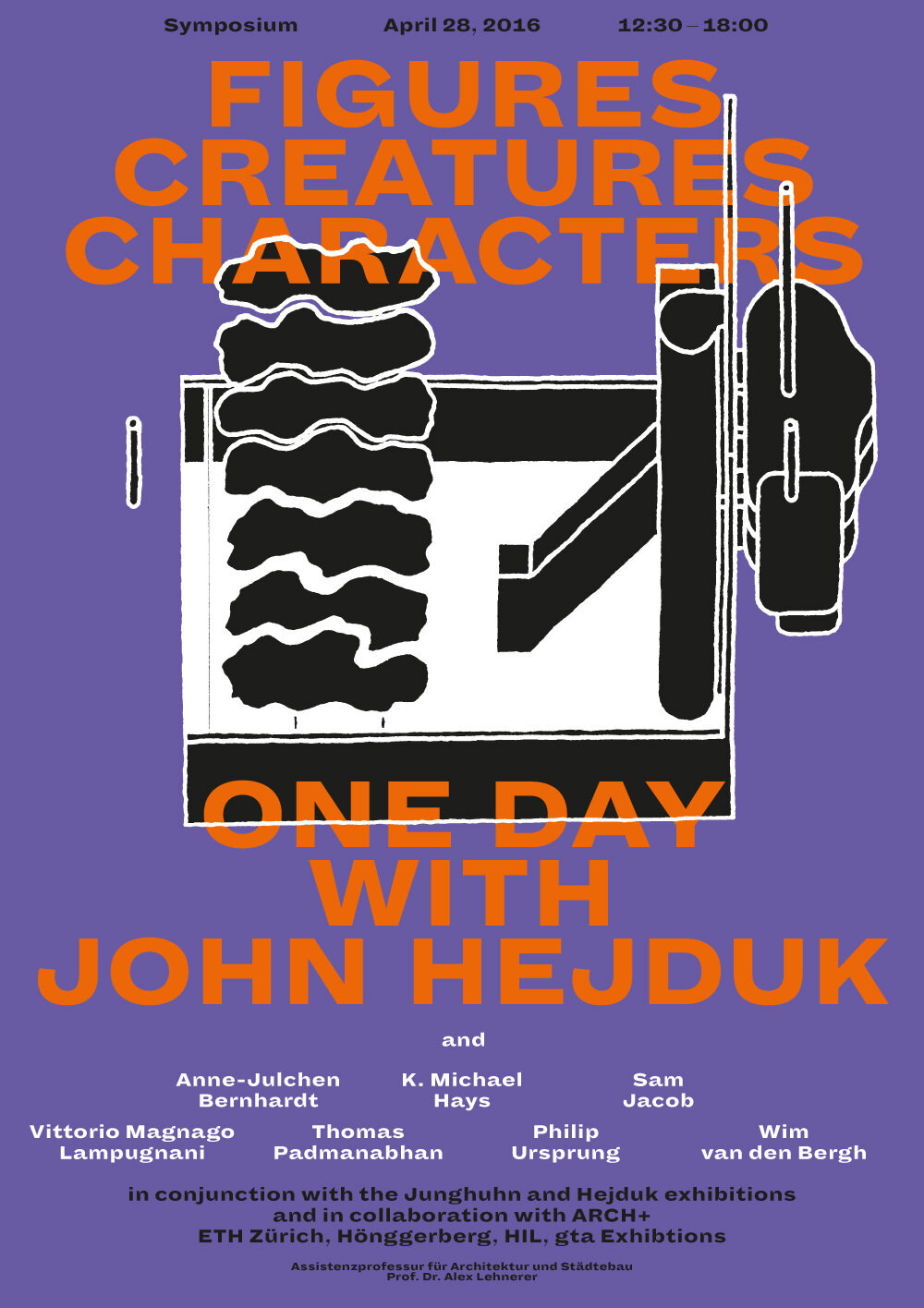 ARCH+ feat. One Day with John Hejduk
