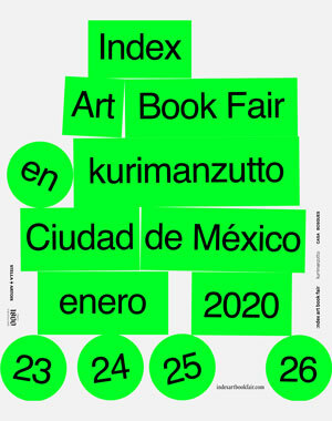 The Index Art Book Fair Mexico City 2020