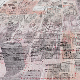 Critical Cartography: Larissa Fassler in Manchester (Detail)