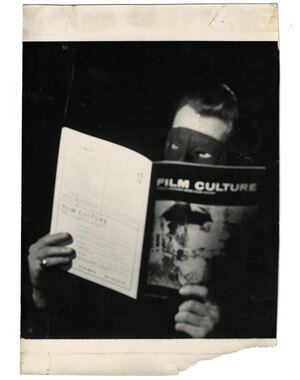 Edit Film Culture! Festival, Ausstellung, Screenings // Foto: Edouard de Laurot, ca. 1956