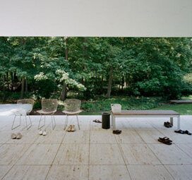 Armin Linke: Mies van der Rohe, Farnsworth House, Chicago USA, 2011